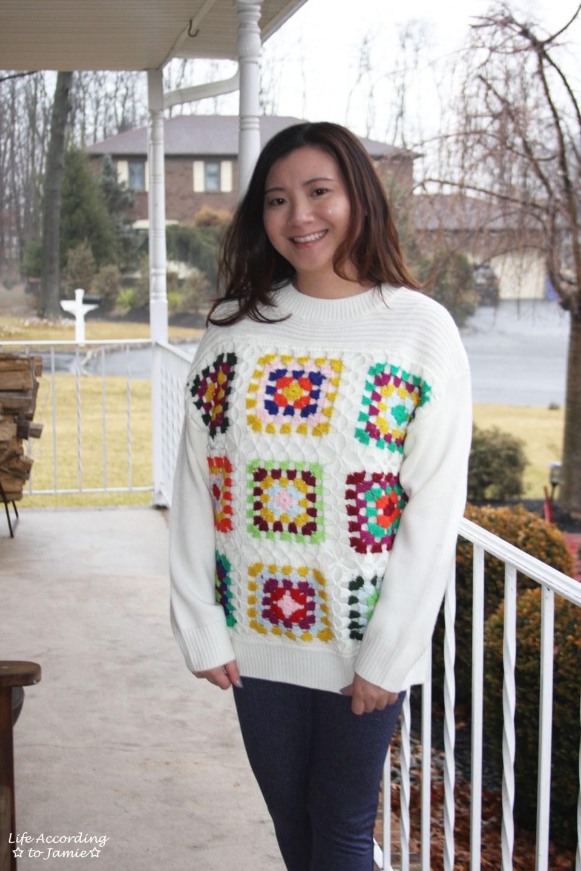 Boho Charm Crochet Knit Sweater 11