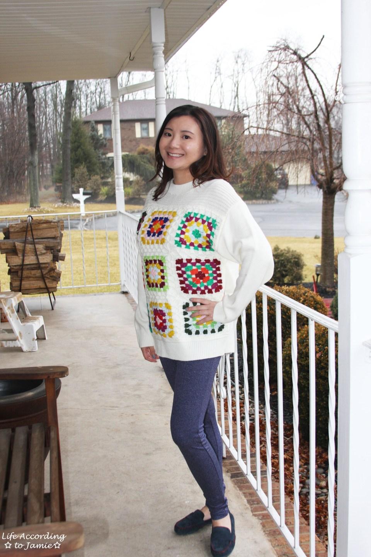 Boho Charm Crochet Knit Sweater 12