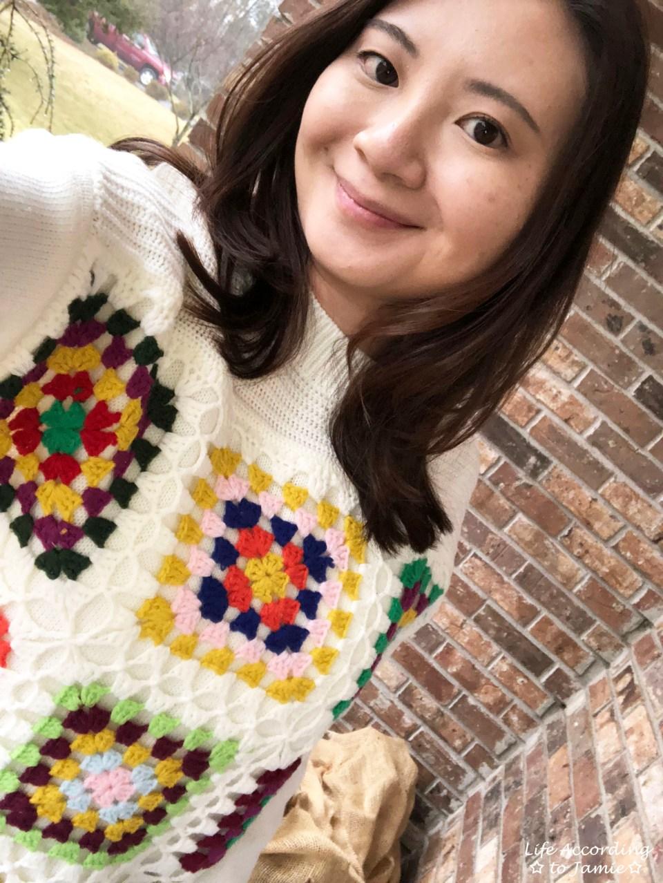 Boho Charm Crochet Knit Sweater 5