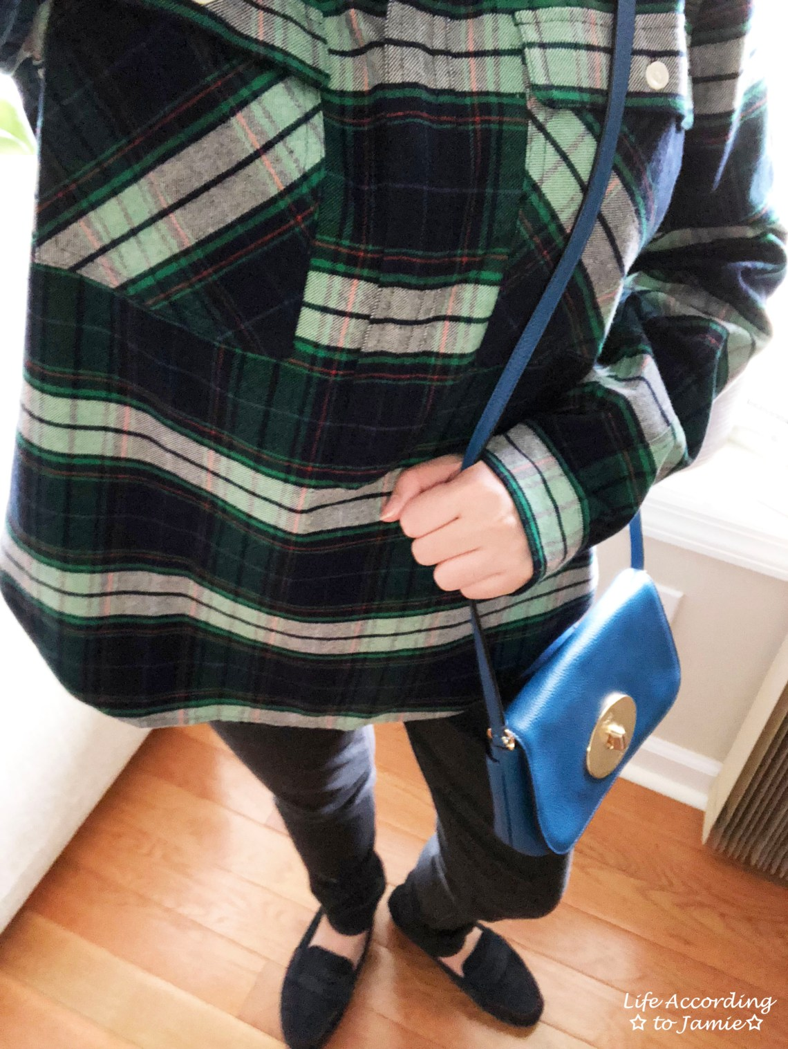 Buffalo Check Plaid Shirt Jacket