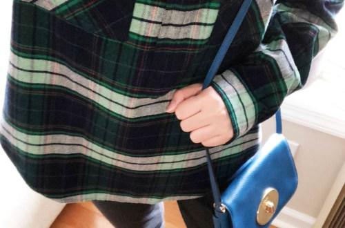 Buffalo Check Plaid Shirt Jacket