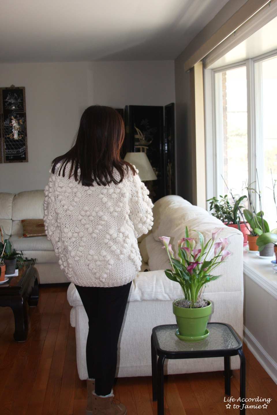 Knit Your Love Pompom Cardigan 12