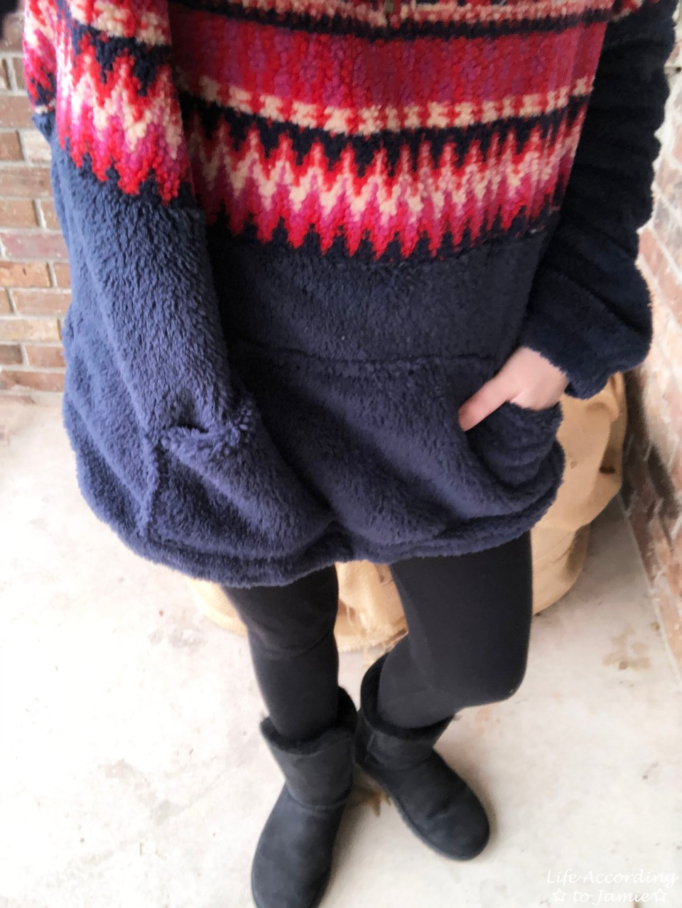 Navy & Red Pullover 2