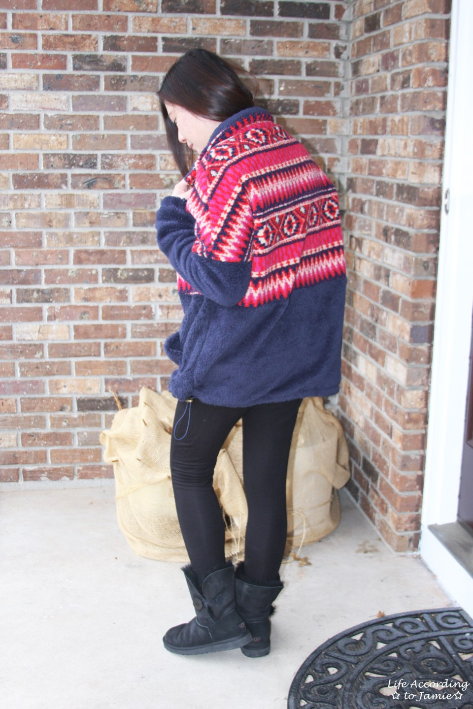 Navy & Red Pullover 5