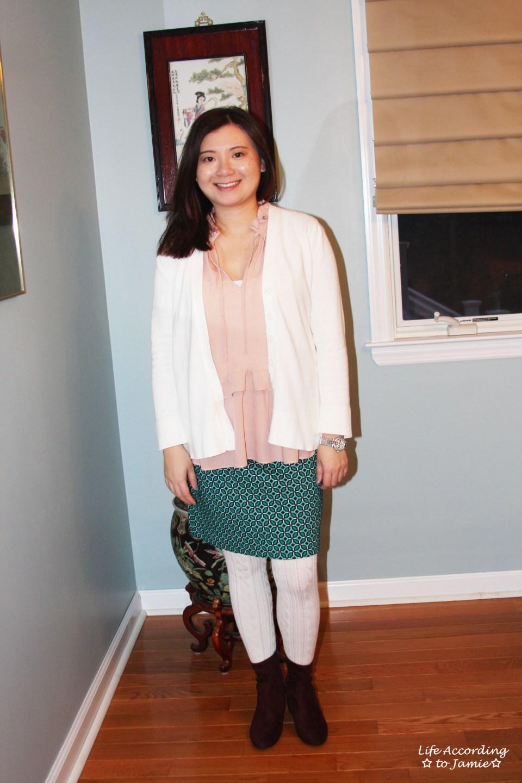 Tiled Jacquard Skirt 8