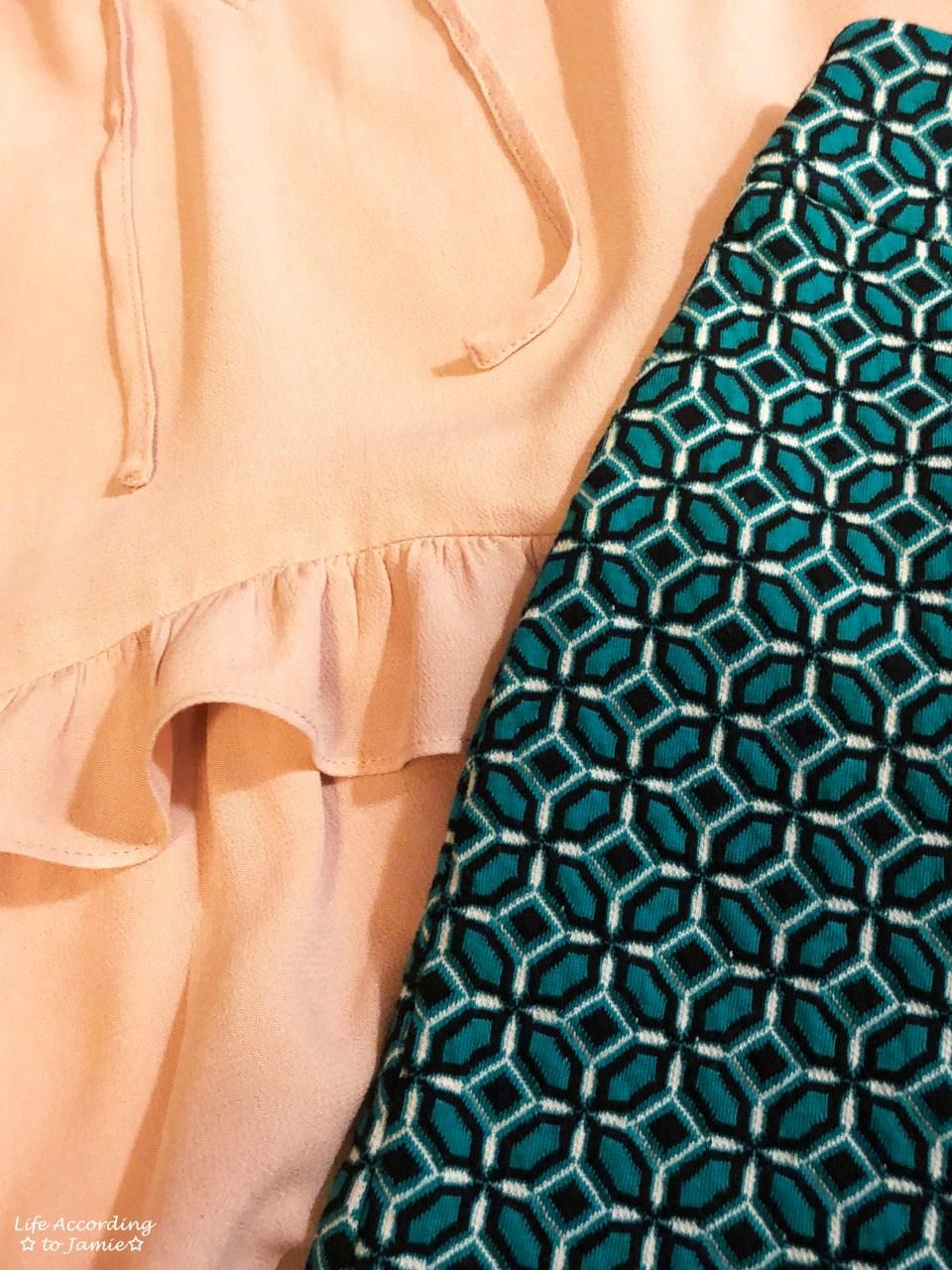 Tiled Jacquard Skirt