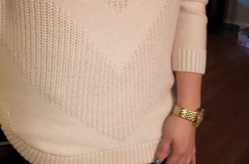 V-Knit Sweater