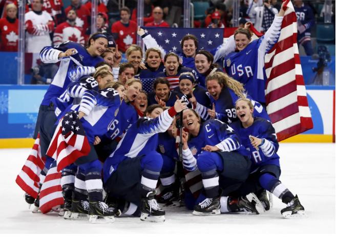 women's hockey gold 1