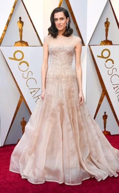 Allison Williams - Oscars 2018