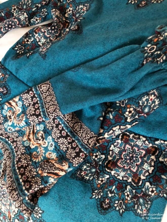 Bell Sleeve Fleece Dress 14