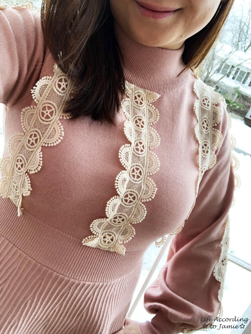 Crochet A-Line Dress 2