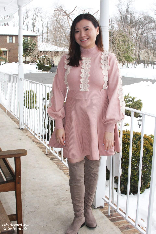 Crochet A-Line Dress 7