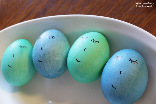 Easter Eggs - Sleeping Faces 1