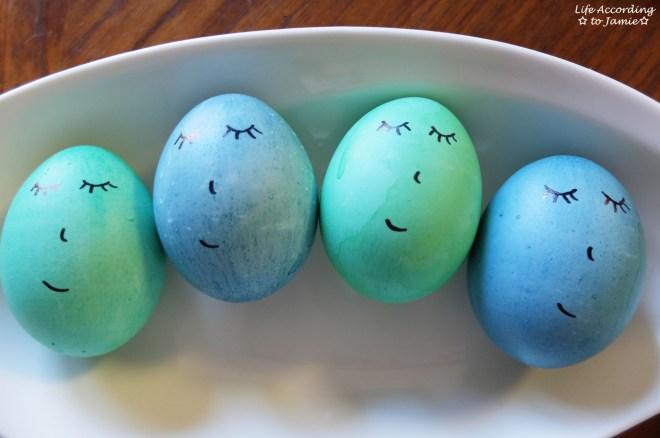 Easter Eggs - Sleeping Faces 3