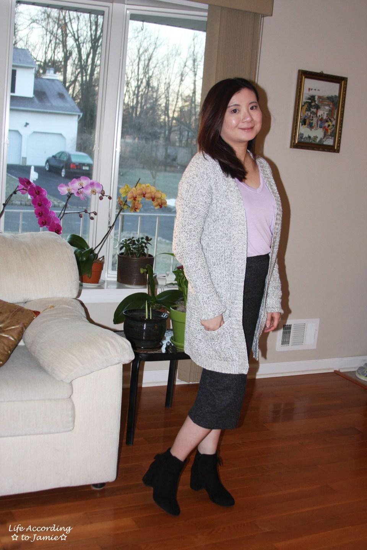 Plush Jersey Pencil Skirt 5