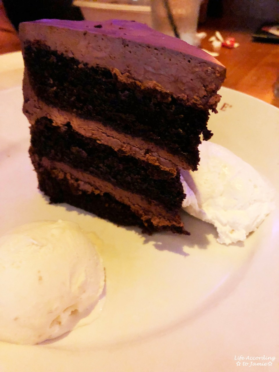 Redstone Grill - Chocolate Cake