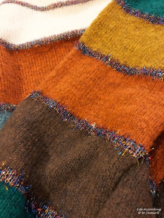 Color Block Tinsel Stripe 15