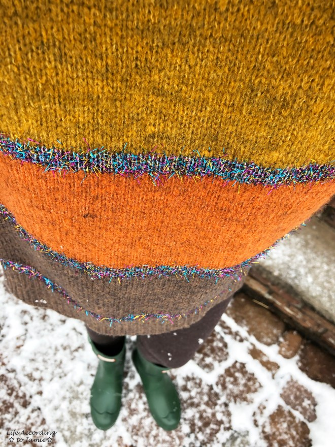 Color Block Tinsel Stripe 6