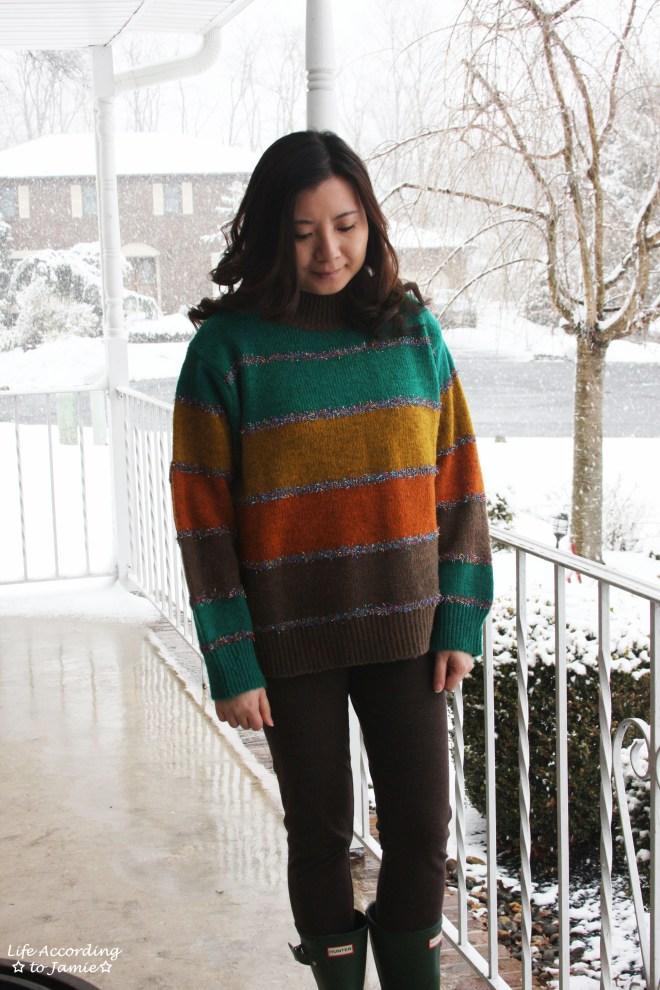 Color Block Tinsel Stripe 8