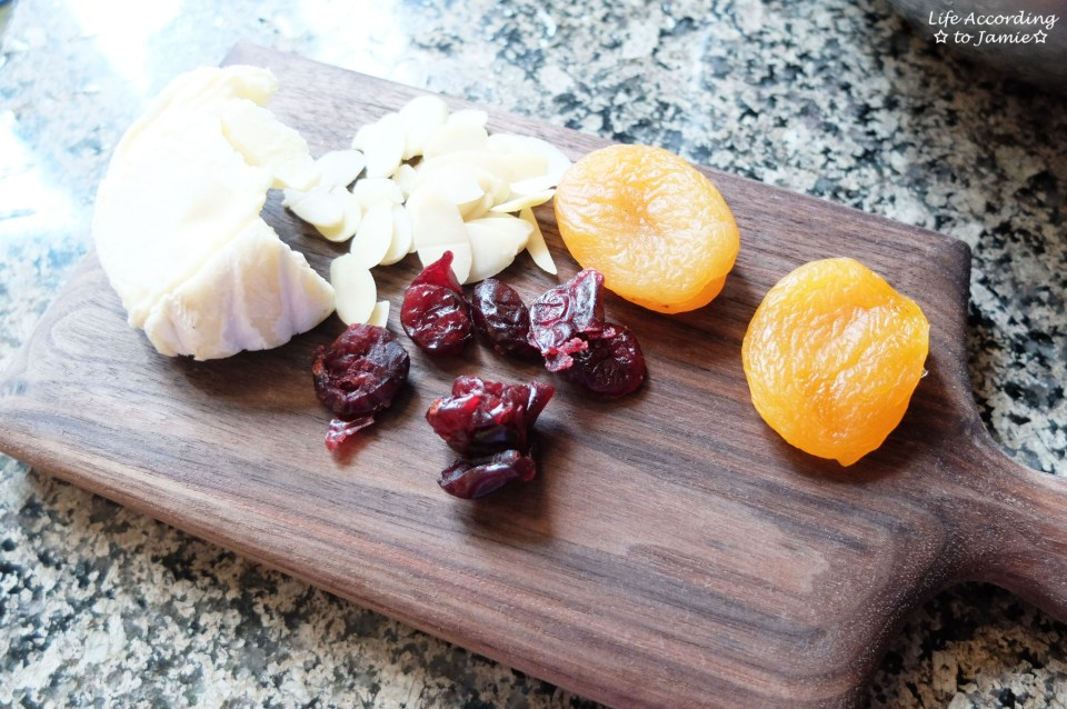 Dried Fruit & Cheese Board