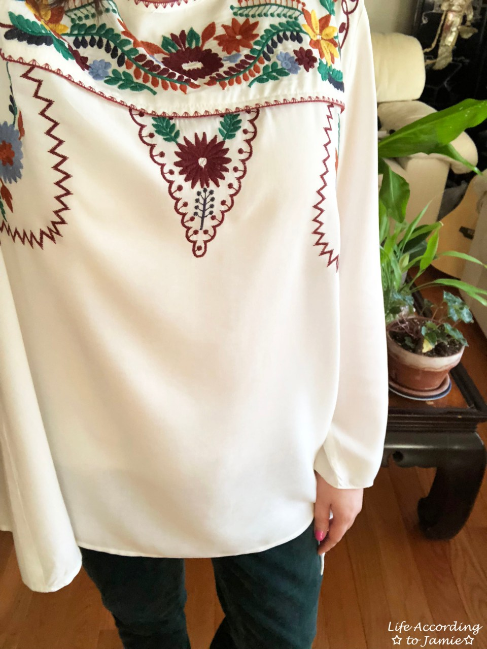 Embroidered Boho Top 3
