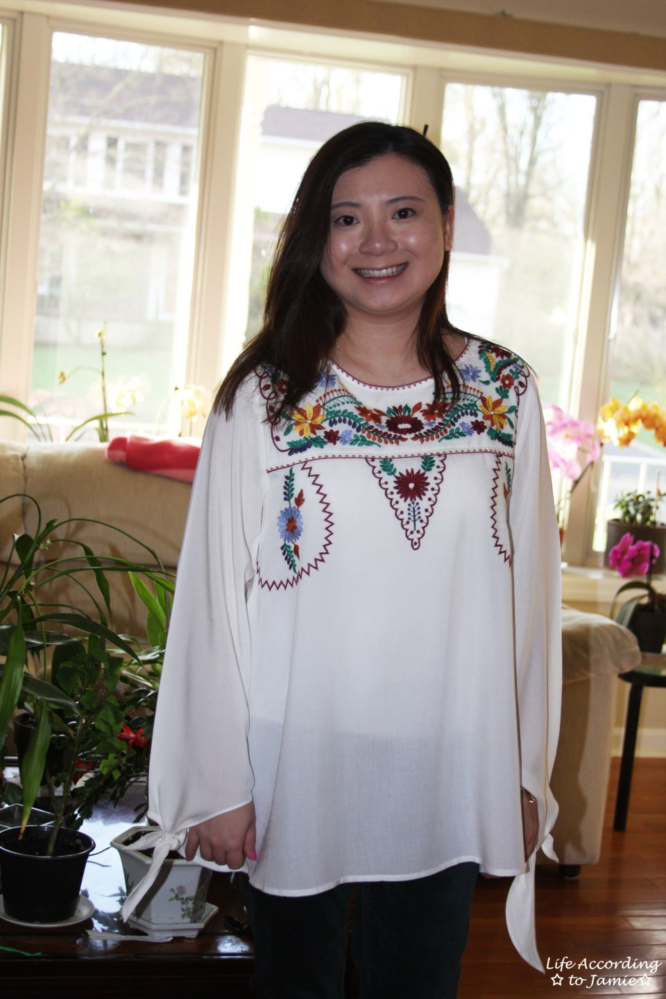 Embroidered Boho Top 5