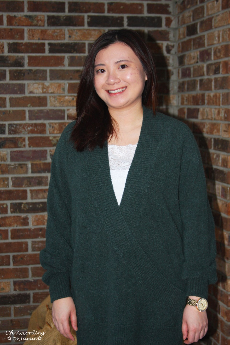 Green Wrap Front Tunic 4