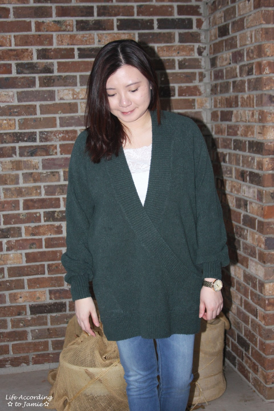 Green Wrap Front Tunic 6