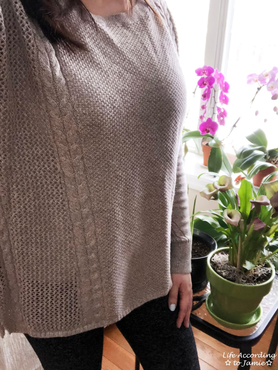 Mixed Stitch Cable Sweater 2