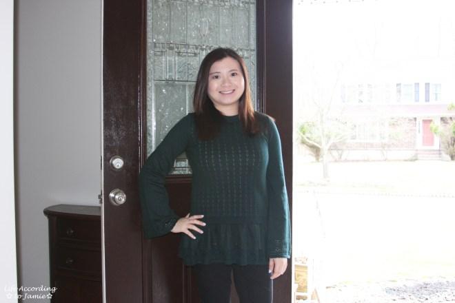 Pointelle Babydoll Sweater 11