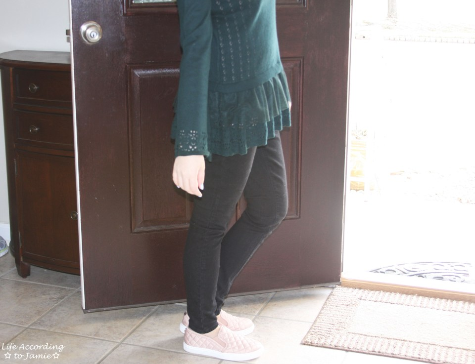 Pointelle Babydoll Sweater 4