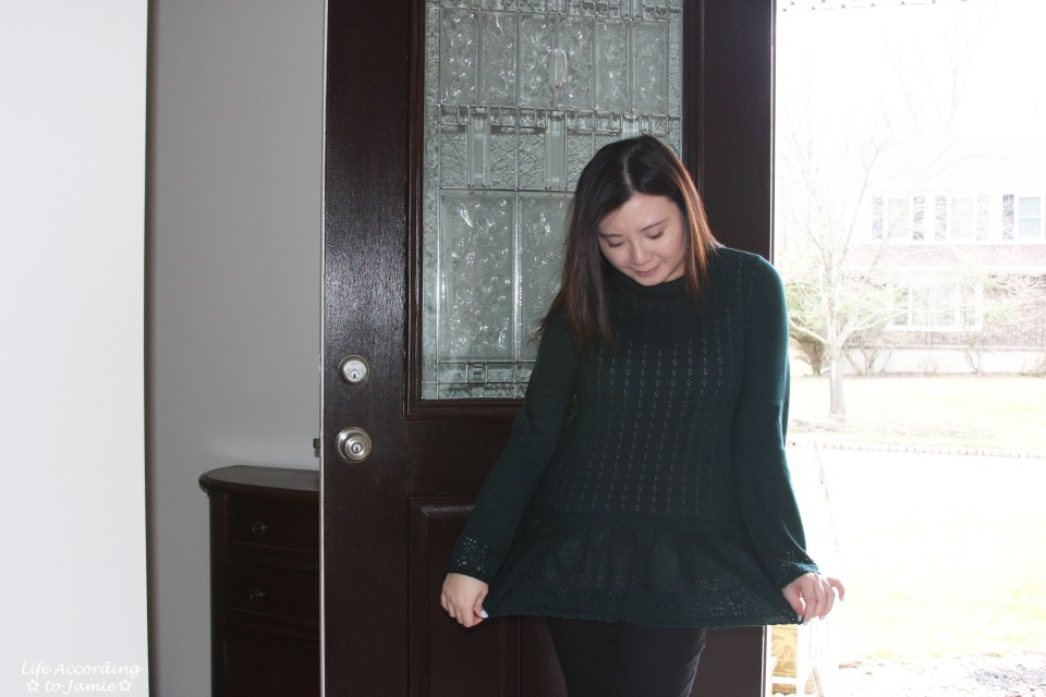 Pointelle Babydoll Sweater 6