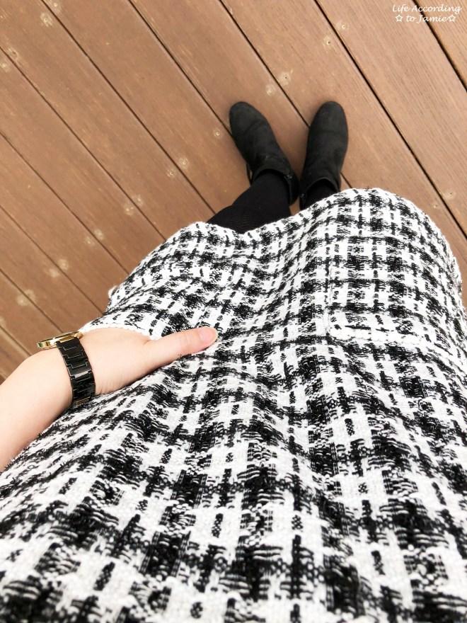 Houndstooth Dress 3