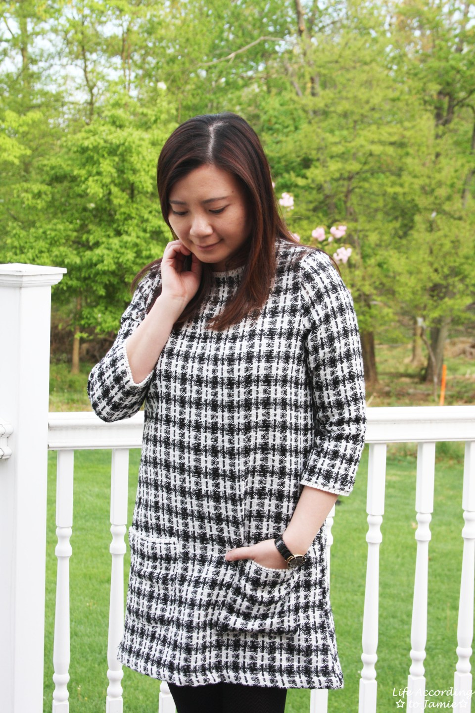 Houndstooth Dress 4