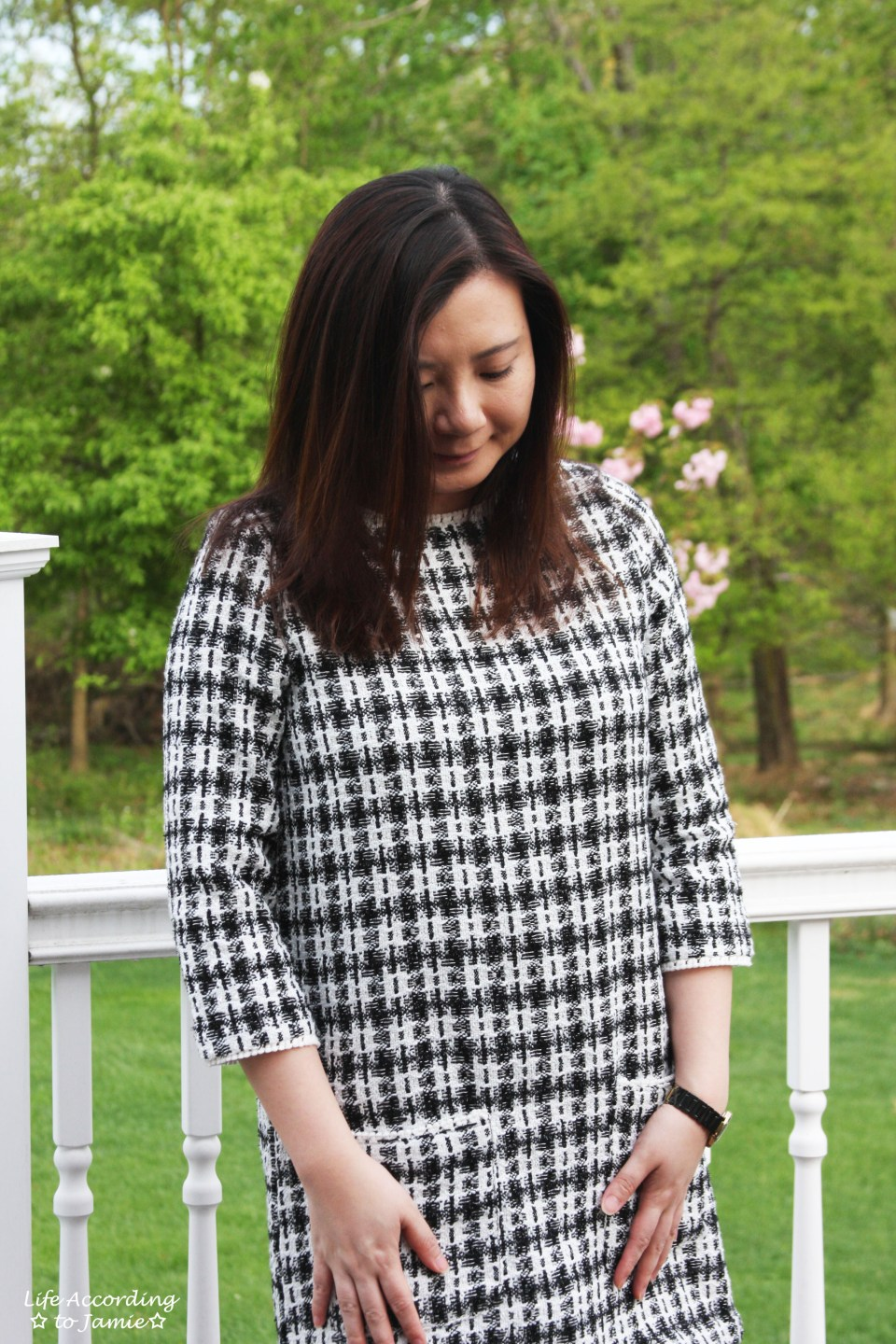 Houndstooth Dress 6