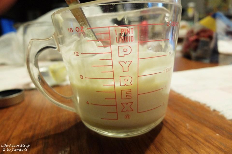 Orange Juice + Sour Cream