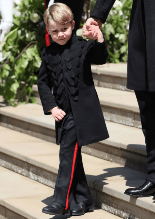 Prince Harry & Meghan Markle Wedding - Prince George