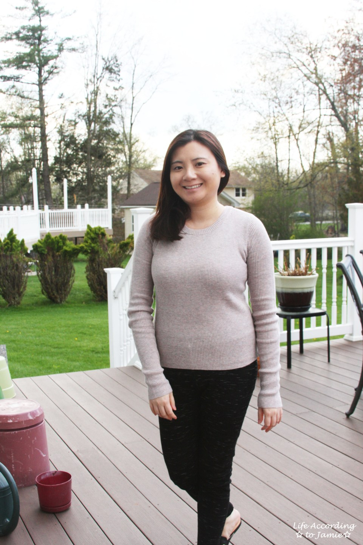 Tulip Back Sweater