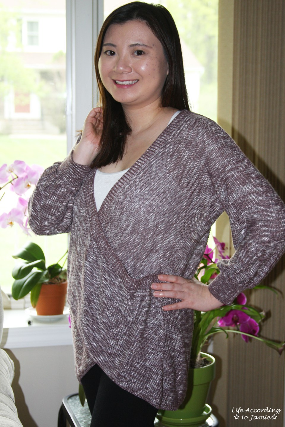 Wrap Front Sweater 11