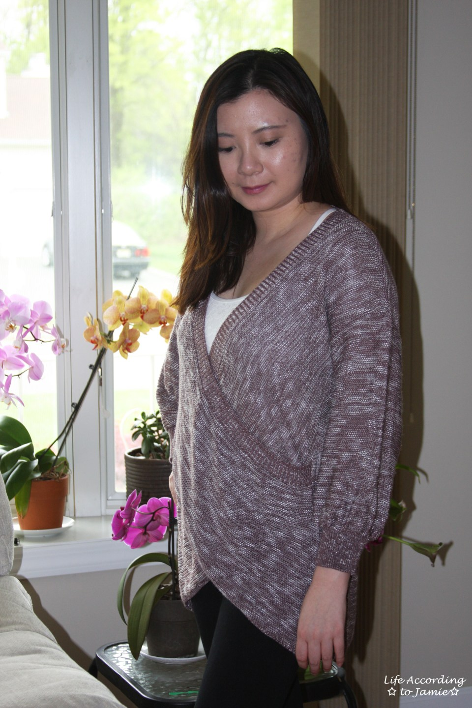 Wrap Front Sweater 12