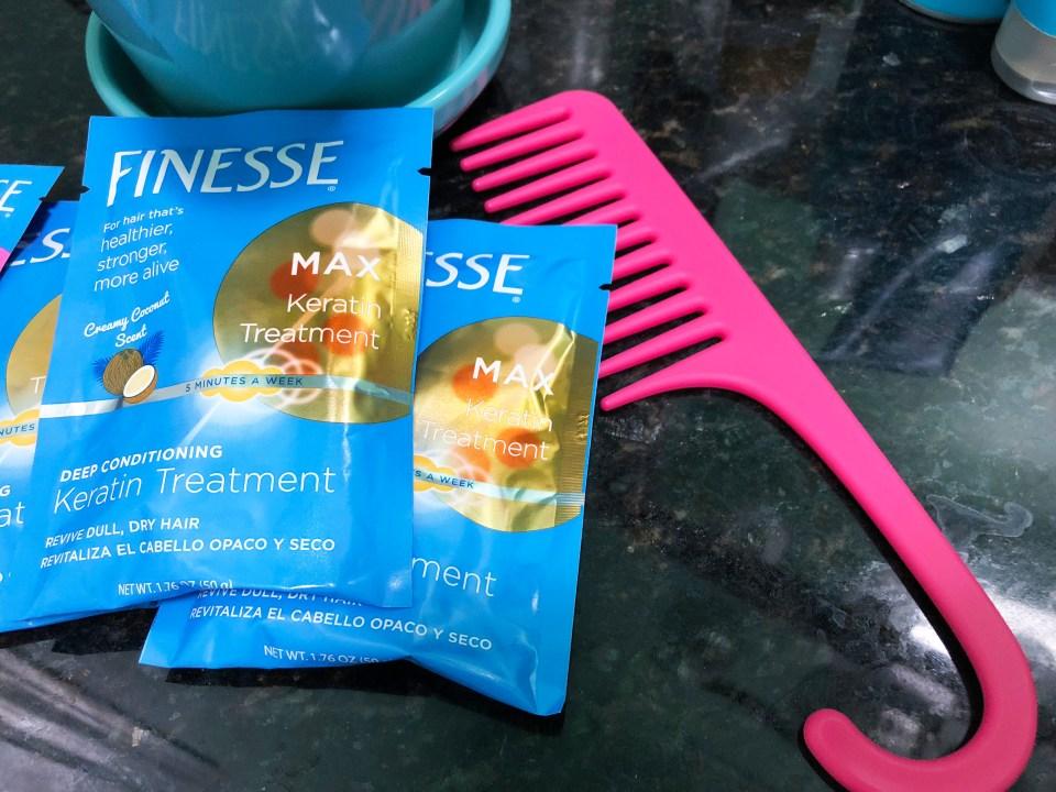 Finesse Deep Condiioning Keratin Treatment