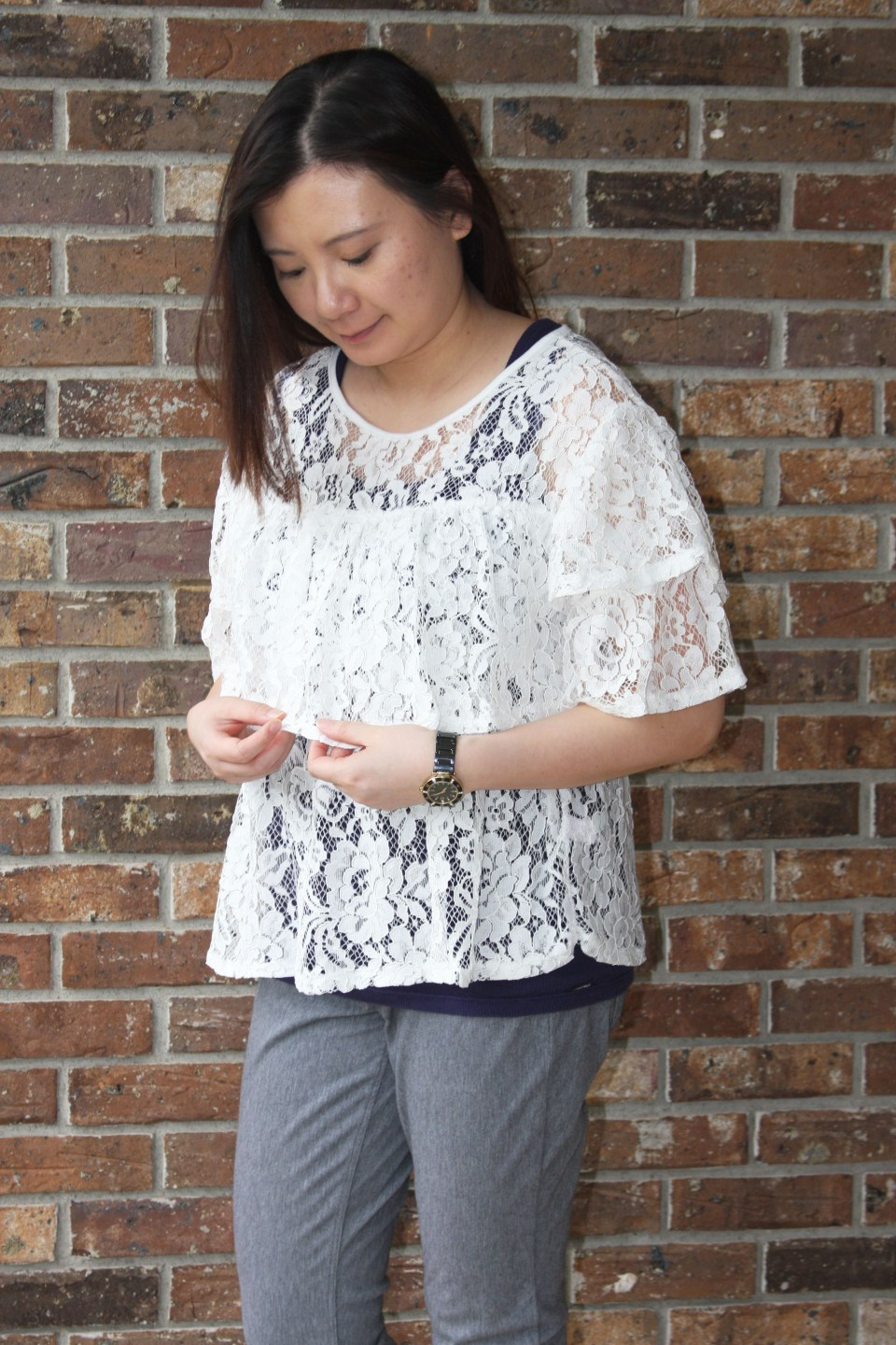Lace Tiered Ruffles 1