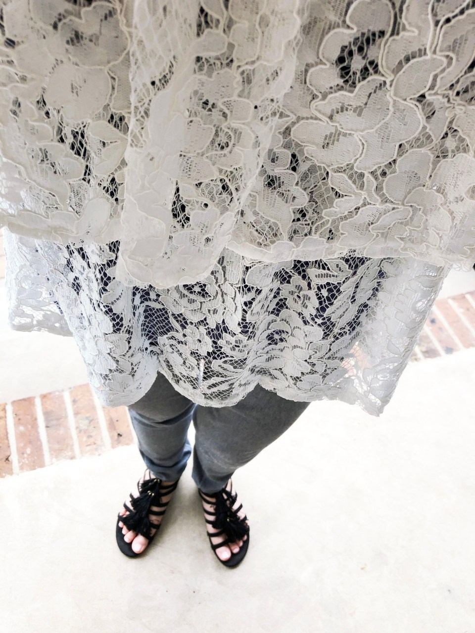 Lace Tiered Ruffles 10