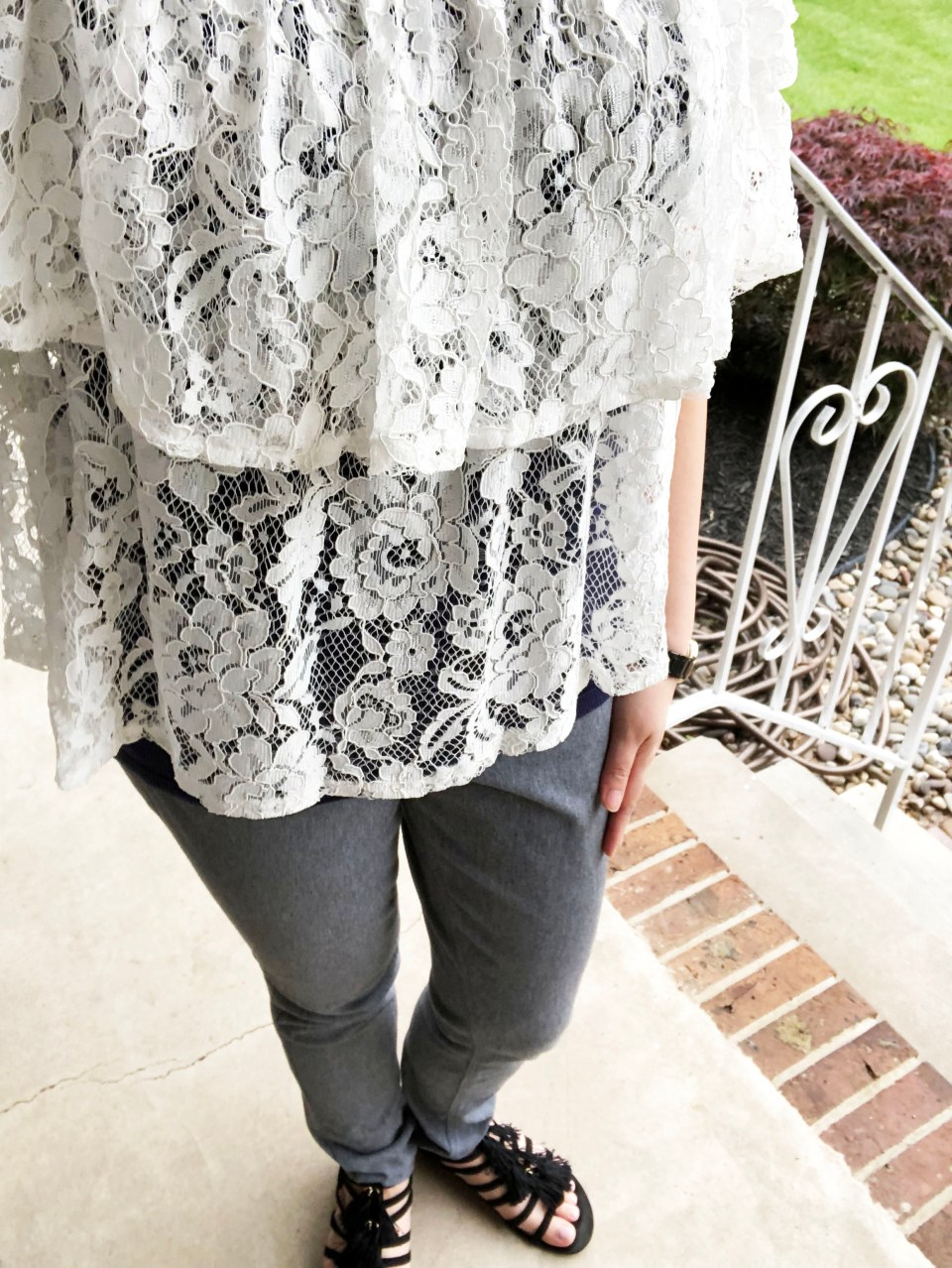 Lace Tiered Ruffles 12