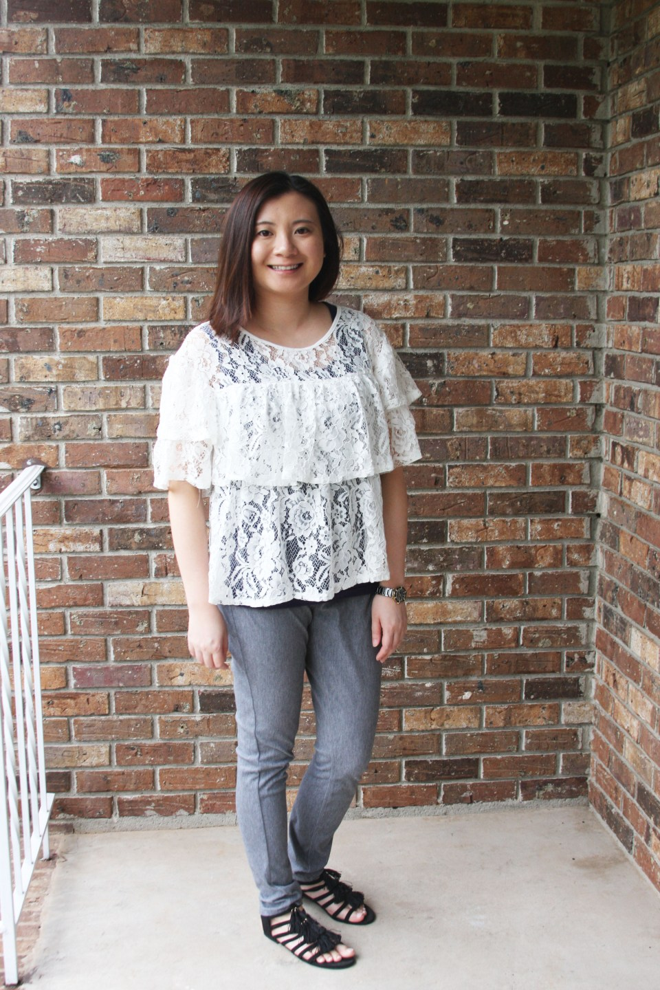 Lace Tiered Ruffles 5