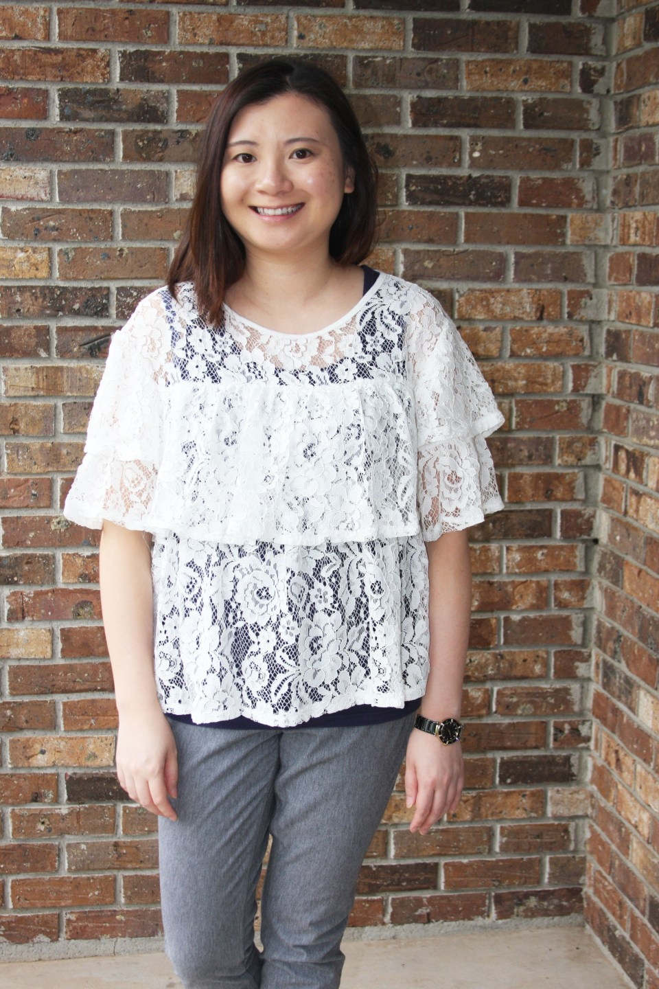 Lace Tiered Ruffles 8