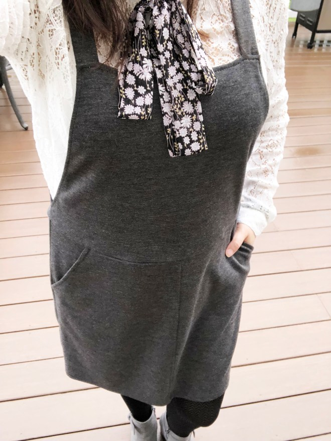 Lace Top + Pinafore 10