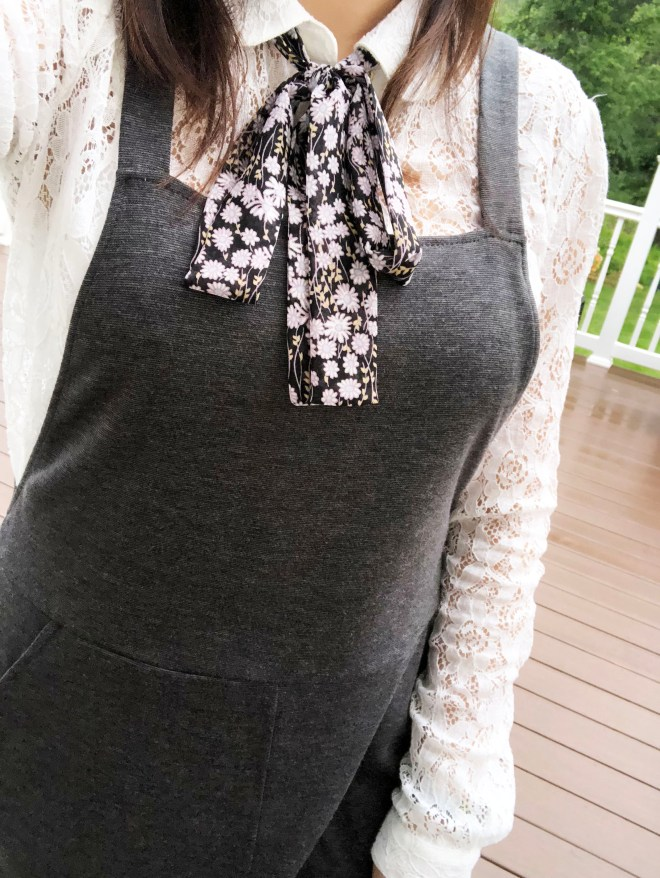 Lace Top + Pinafore 11