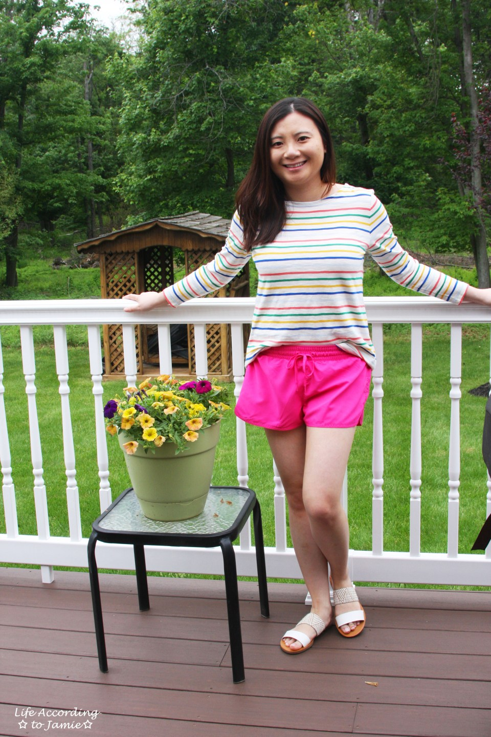 Multicolored Striped Top 7
