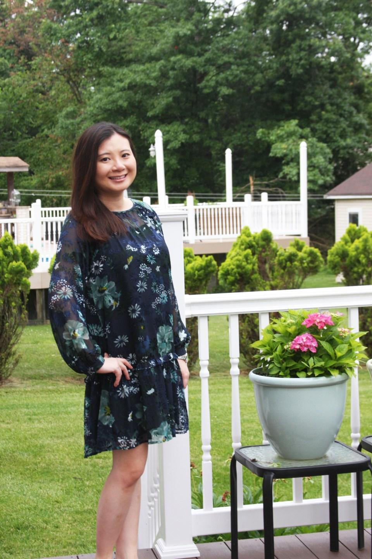 Winter Garden Flounce Dress 1